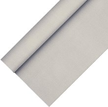 Papstar Tablecloth, Fleece fabric, Silver, 10 x 10