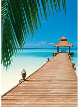 Paradise Beach 2.54m x 183cm Photo Wallpaper East