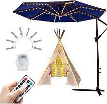 Parasol Lighting Umbrella Fairy Lights with 104