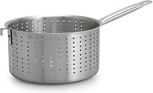 Pardini Absolute Colander with Handle, Steel,