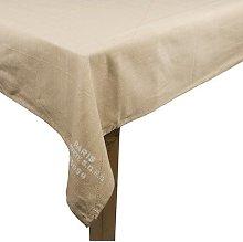 Paris B. Tablecloth Colour: Beige