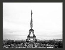 Paris in Black and White 154cm x 200cm Wallpaper