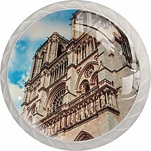 Paris Landmark Glass Cabinet Knobs Glass Knobs for
