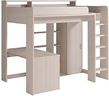 Parisot Higher Kids High Sleeper Bed with Desk &