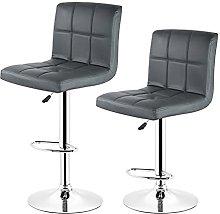 paritariny Bar Stools, 2PCS Set Bar Chair Six Grid