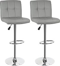 paritariny Bar Stools, Bar Chairs 1pair Cushion