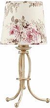 Parkhur 42cm Table Lamp Fleur De Lis Living