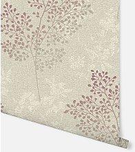 Parkland Stone & Red Wallpaper 698005 - Arthouse
