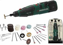 Parkside Cordless Rechargable Dremel Type Rotary