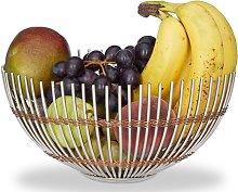 Parksley Metal Steel Fruit Bowl Brayden Studio