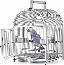 Parrot Pigeon Cage, Large Metal Bird Cage Aviary