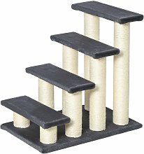 Particle Board Pet Stair Dog Cat Step Ladder Climb