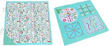 Party Animals 4 in 1 Games Picnic Mat