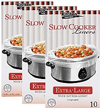 PARTY BARGAINS Multi-Use Cooking Bags Slow Cooker