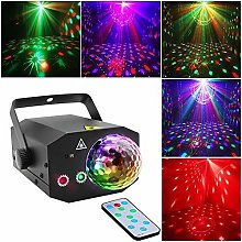 Party Dj Disco Lights + Disco Ball, Stage Lighting