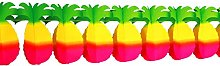 Party Garland Tropical Pineapple (3D Look - 4 m x