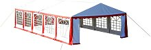 Party Tent 10 x 5 m Red QAH06755 - Hommoo