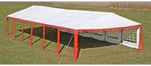 Party Tent 12 x 6 m Red QAH06757 - Hommoo