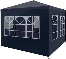 Party Tent 3x3 m Blue VD29249 - Hommoo
