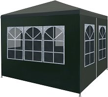 Party Tent 3x3 m Green VD29251 - Hommoo