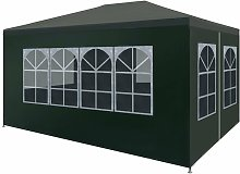 Party Tent 3x4 m Green VDTD29253 - Topdeal