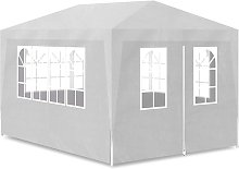 Party Tent 3x4 m White QAH31947 - Hommoo