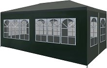 Party Tent 3x6 m Green VD29255 - Hommoo