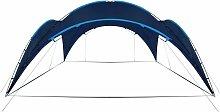 Party Tent Arch 450x450x265 cm Dark Blue - Blue