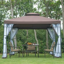 Party Tent Marquee Canopy Pavillion Mesh Sidewall