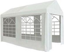 Party Tent PE 2x4 m White