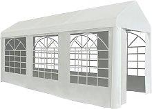 Party Tent PE 2x5 m White - White - Vidaxl