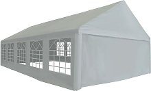 Party Tent PE 5x10 m Grey - Hommoo