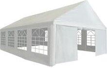 Party Tent PE 5x8 m White