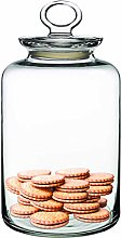 Pasabahce Clear Glass Food Storage Jar with