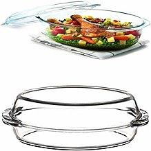 Pasabahce Transparent Diamond Candy Glass Bowl