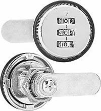 Password Cabinet Lock,Zinc Alloy 3 Digit Code