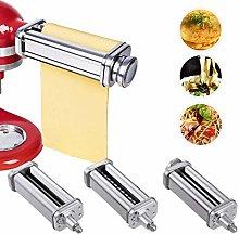 Pasta Maker Attachments Set Spaghetti Noodle