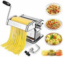 Pasta Maker Machine,TOPZONE Manual Pasta Machine