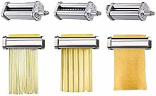 Pasta Roller & Cutter Attachments 3-in-1 Set for