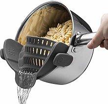 Pasta Strainer,Kitchen,Clip,Sieve,Chefs
