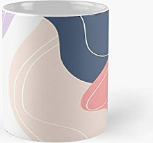 Pastel Colorful Minimal Abstract Design Classic