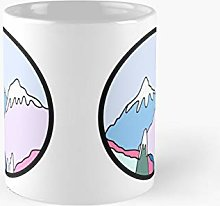 Pastel Mountains Classic Mug | Best Gift Funny