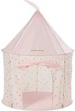 Pastel Pink Castle Play Tent