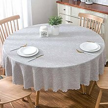 Pastoral Round Tablecloth Tablecloth Solid Color