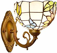 Pastoral Tiffany Style Wall Lights With