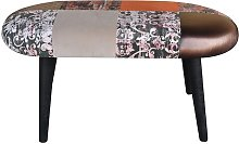 Patchwork Upholstered Bench MONKEY MACHINE