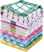 Patelai 12 Pieces Kitchen Dish Cloths Washable