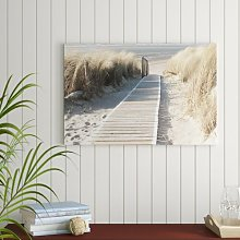 Path Through the Dunes Photographic Art Print