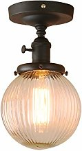 Pathson Industrial Black Ceiling Pendant Light