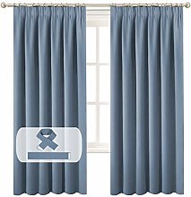 Patio Blackout Curtains and Draperies - (Stone